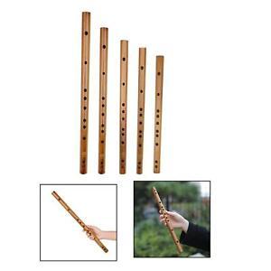 Indien En Bois Flûte de Bambou Instrument de musique Enregistreur Enfants
