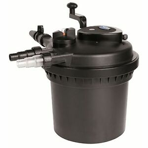 Aquapro-AP5000UV-UV-COMBO-SERIES-II-PRESSURE-FILTER-for-Crystal-Clear-Pond-Water
