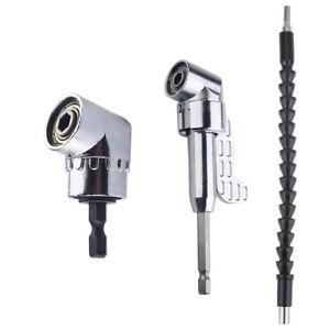 2pcs//Set Flexible Shaft Connector Extender Power Driver Drill Bit Extension Tool