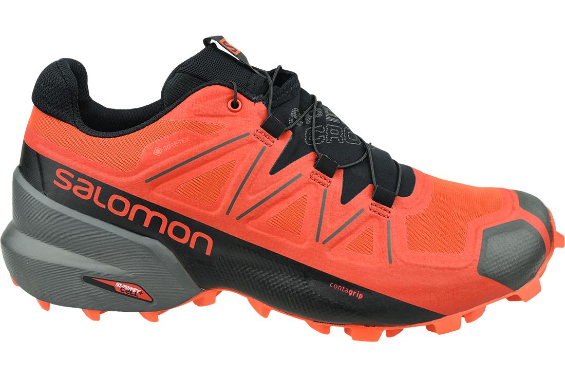 SALOMON SPEEDCROSS 5 GTX 407965 MEN'S TRAIL RUNNING RED GENUINELY ORIGINAL SHOES