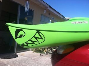 Shark Teeth Funny Boat Decal Vinyl Graphics Kayak Canoe