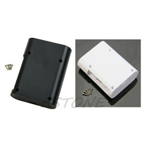 ABS Plastic Case Enclosure Raspberry Pi 2 Model B /& Pi B Screws Cover Shell