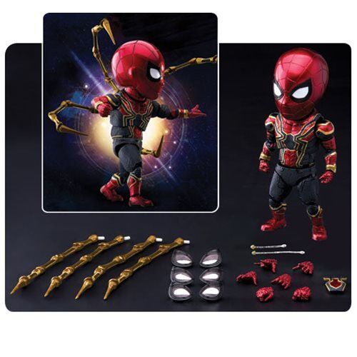 Beast Kingdom Marvel Avengers: Infinity War IRON SPIDER EAA-060  PX Exclusive