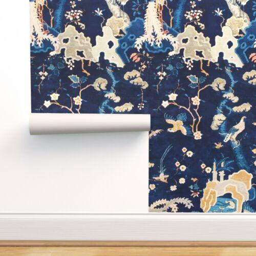 Peel-and-Stick Removable Wallpaper Oriental Garden Oriental Chinese Garden Ming