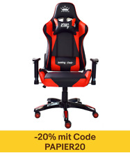 MIDORI Gaming Stuhl Drehstuhl Sportsitz Chefsessel Bürostuhl Racing inkl. Kissen