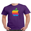 Apple-T-Shirt-Logo-Mac-Men-039-s-And-Youth-Sizes-Ring-Spun-Cotton-Soft-TEE thumbnail 8