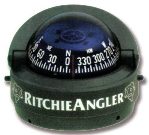 """«ANGLER RH-RA 93» 2/"""" 3//4 INSTALLAZIONE A CRUSCOTTO BUSSOLA RITCHIE MOD"""