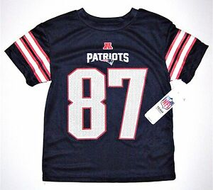 87cd5dc8 NFL New England Patriots Rob Gronkowski #87 Kids Size 5/6 Synthetic ...