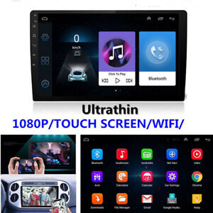 9-034-Ultra-thin-Android-8-1-2Din-1-16G-Car-GPS-Wifi-BT-Stereo-MP5-Player-DVR-TPMS
