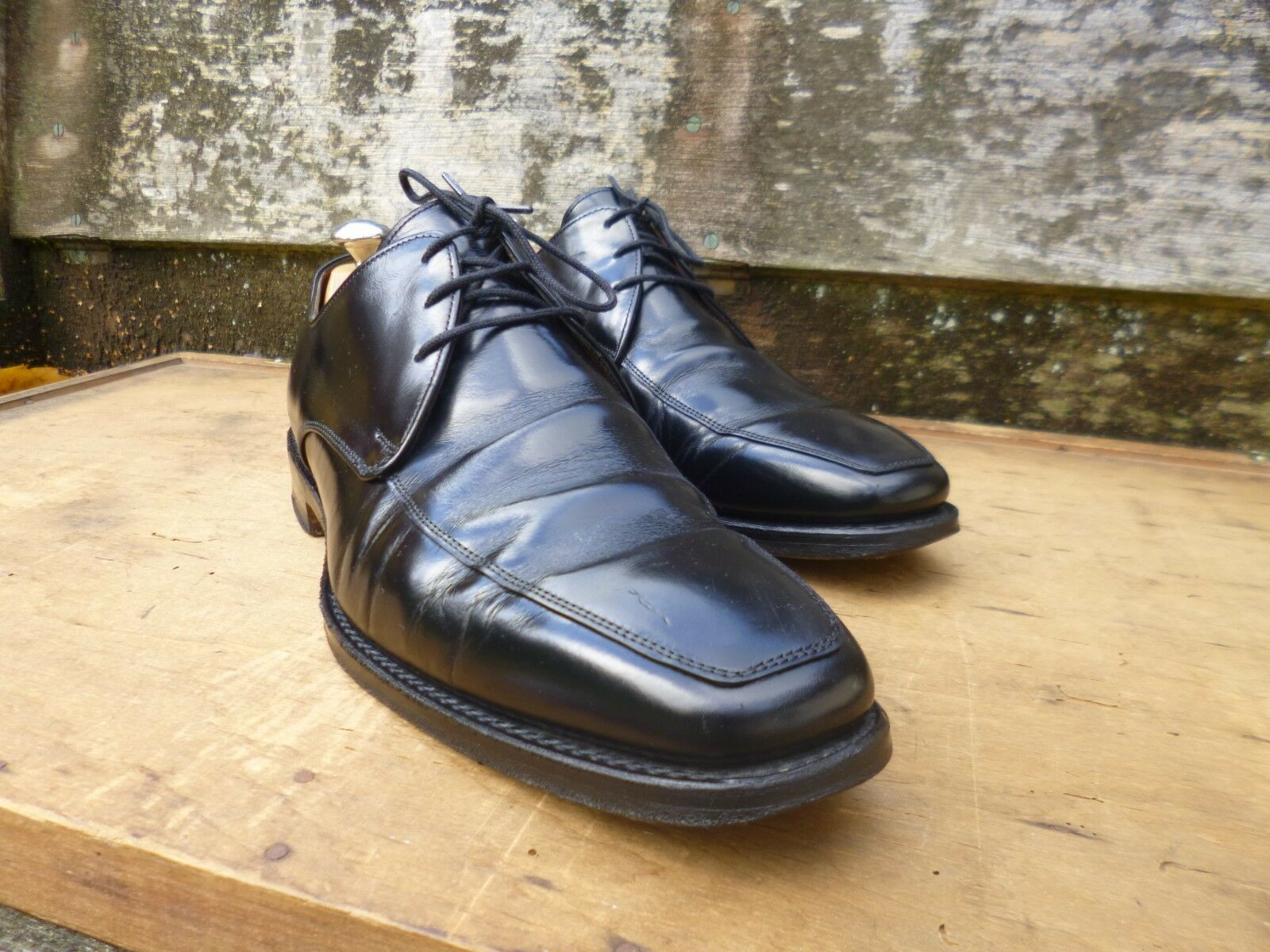 CHEANEY / CHURCH DERBY – BLACK  – UK 10 10 UK – MILES – VERY GOOD CONDITION b1ac31