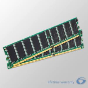 2x 2GB PC2100 Dell PowerEdge 1750 2600 2650 Memory RAM