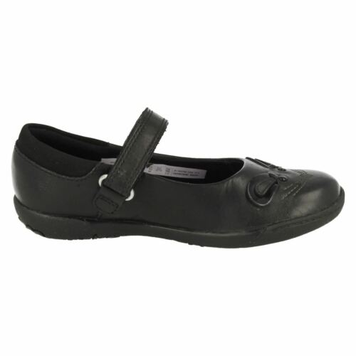 GIRLS TODDLER CLARKS NIBBLES BEE HOOK /& LOOP CASUAL MARY JANE SCHOOL SHOES SIZE