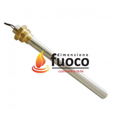Cod.1033 FLUX CANDELETTA STUFE PELLET RACC.3//8 D.9,5 L.150  MCZ SWING GIO/'