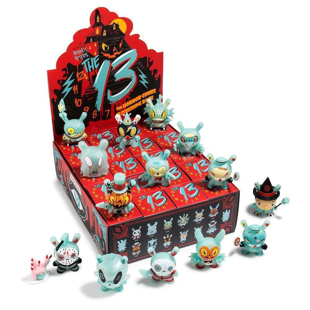 The The The 13 GID Dunny Series Brandt Peters x Kidrobot Mini's Display Case 20 pcs 89ec52
