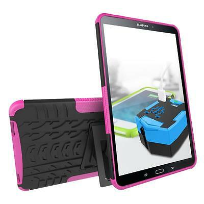 Shockproof Heavy Duty Stand Shockproof Rubber Hybrid Case Cover For Samsung