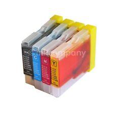 4 Patronen für Brother LC970 LC1000 DCP135C MFC240C 130C DCP150C 235C 440CN Set