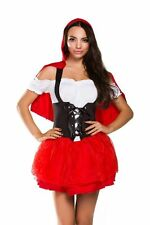NEW Ninimour Sexy Adult Little Red Riding Hood Costume Cosplay Dress (XX-Large)