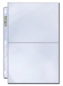 1000 Ultra PRO Platinum 2-Pocket Photo//Postcard//Prints Album Pages//Binder Sheets