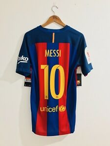 Fc-Barcelona-2016-17-Match-Vapor-Messi-Final-Copa-Del-Rey-2017-Shirt-Jersey