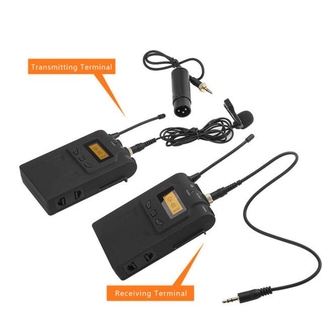 BOYA BY-WM6 UHF Omni-Directional Lavalier Wireless Microphone fr DSLR ENG/EFP SH