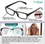 Indexbild 5 - Multifocal Focus Glasses Lens Non-Prescription Reading Driving Adjusting Bifocal