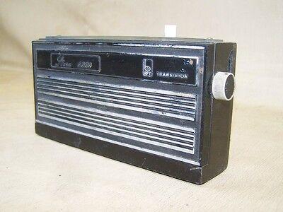 DDR Taschenradio Stern 4000, RFT Radio, altes Kofferradio, DEKO Bastler