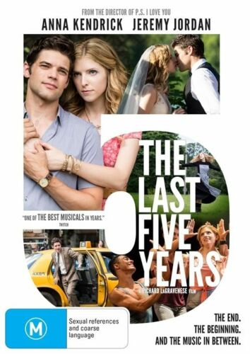 1 of 1 - The Last Five Years (DVD, 2015)