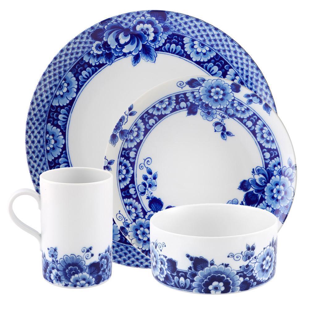 Vista Alegre Porcelaine Bleu Ming 4 Pièce Dinnerware Set