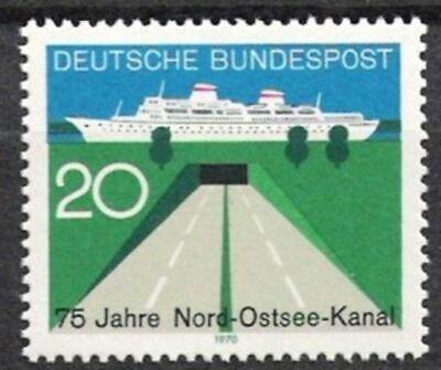 Bund Nr.628 ** Nord-ostsee-kanal 1970, Postfrisch