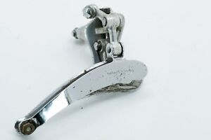 NEW-Campagnolo-Record-No-Holes-28-6mm-Clamp-On-Front-Derailleur-Speed-Vintage