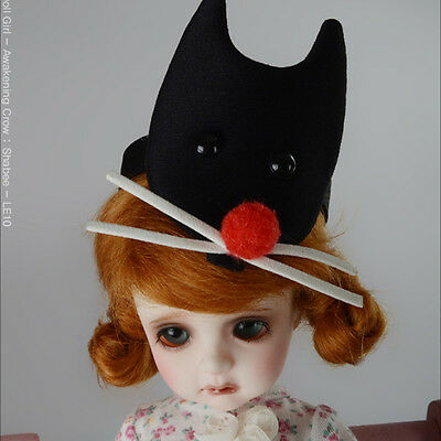 H003 - Black BJD doll acc MSD /& SD FL Hairband Dollmore