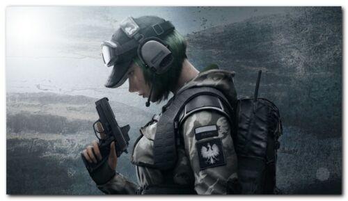 New Ela Tom Clancys Rainbow Six Siege Game Silk Wall Poster Size 24x36 inches