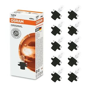 10x-OSRAM-2351MFX6-1-2W-12V-BX8-4d-Original-Interior-Circuit-Board-Bulbs