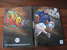FIFA STREET  Lionel MESSI      -- BOITIER METAL STEELBOOK     --- vendu sans jeu