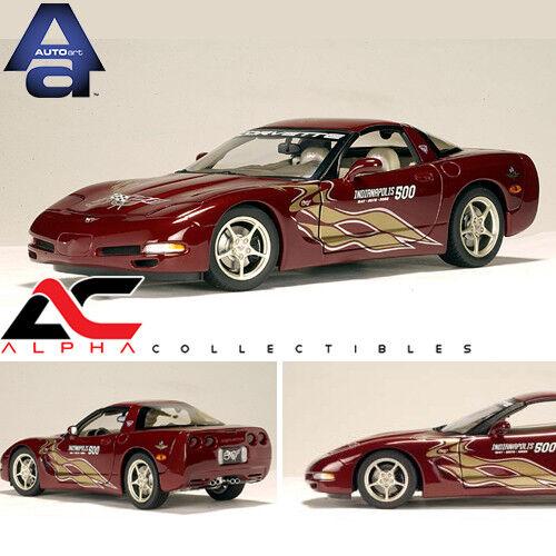 AUTOART 80206 1:18 2002 CHEVROLET CORVETTE INDY 500 PACE CAR 50TH ANNIVERSARY