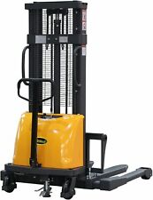 Apollolift Semi Electric Straddle Stacker 98 Lifting Stacker Forklift 3300lbs