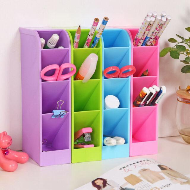 Desktop Storage Box Organizer Clear Cosmetic Plastic Makeup Case Jewelry Holder
