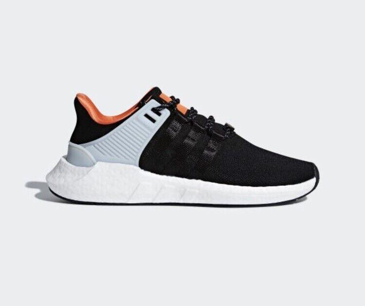 Adidas Originales EQT Soporte Boost 93 17 UK 5.5 Nuevo Negro blancoo CQ2396 NMD Yeezy