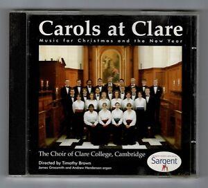 CAROLS-AT-CLARE-Choir-of-Clare-College-Cambridge-CD-Album-Sargent-EA