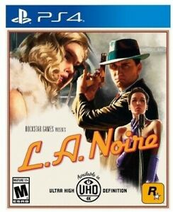 PLAYSTATION 4 PS4 VIDEO GAME L.A. NOIRE LA BRAND NEWSEALED