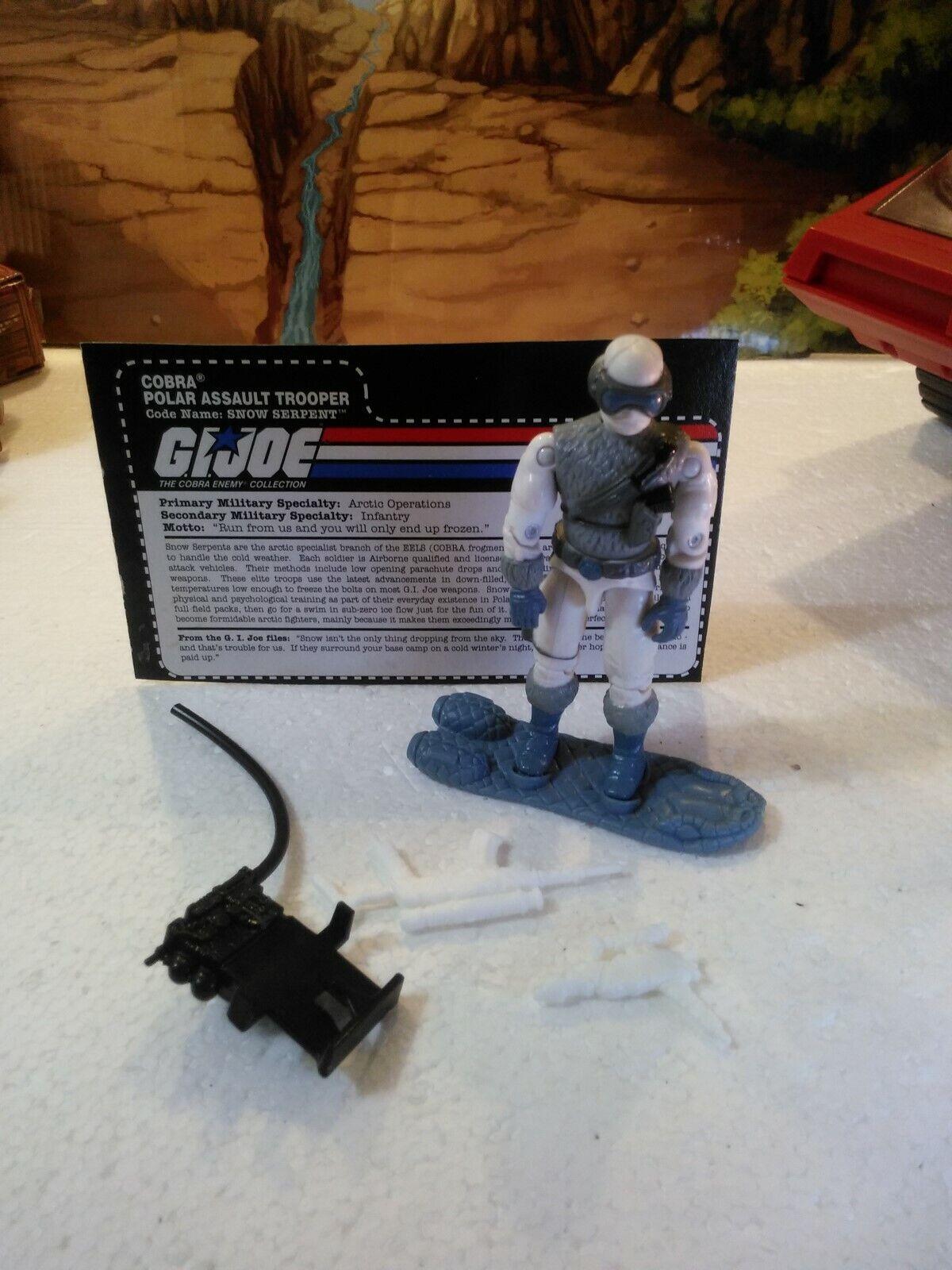 Cobra Polar Force Set  1998 Polar Assault Trooper   SNOW SERPENT(v4)  100% CMP