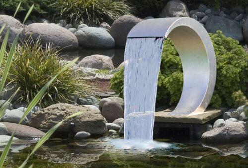 Ubbink Cascade en acier inoxydable cobra sans Pompe étang piscine