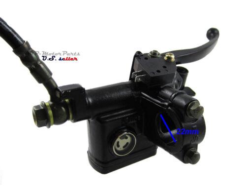 Rear Brake Caliper /& Master Cylinder For 50cc 70cc 90cc 110cc 125cc ATV Quad