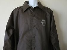 Rare BOYS LIFE MAGAZINE Jacket Brown Nylon Scouts Mint Condition Adult Size XL