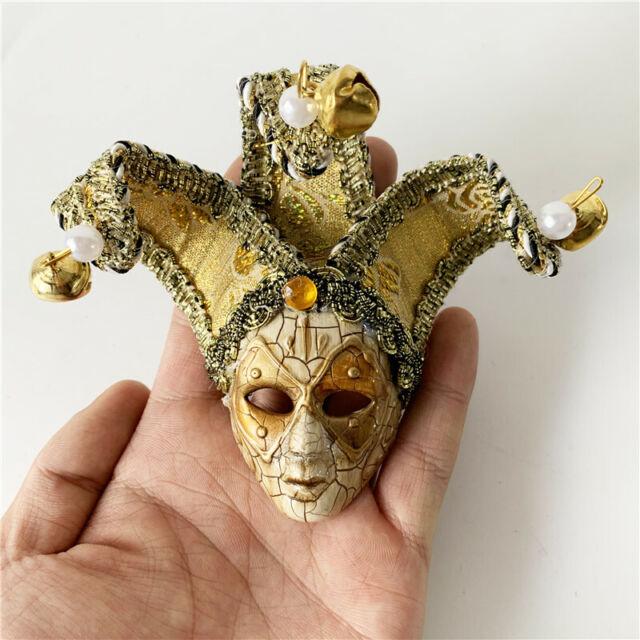 Gold Luxury Metal Chains Mardi Gras Venetian Masquerade Mask for Women M7152
