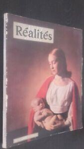 Revista Realidades Juvenil Mujer A L'Enfant N º 71 Diciembre 1951 Buen Estado