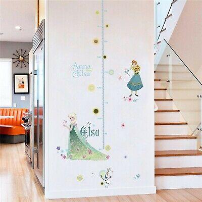 Wandtattoo Kinderzimmer Disney Prinzessin Elsa Anna Eiskonigin Frozen Madchen Ebay