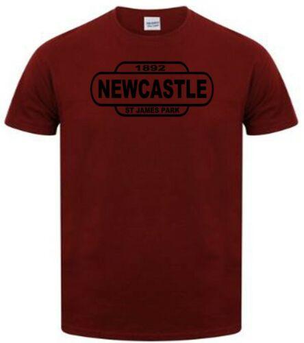 Newcastle Football T Shirt Away jours plutôt ou train Signe T Shirt