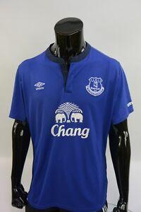 b320d46c7de Image is loading 2014-2015-Umbro-Everton-FC-Home-Football-Shirt-