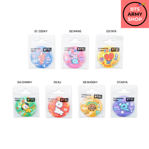 OFFICIALLY LICENSED AUTHENTIC BT21 | ROUND BUTTON BADGE